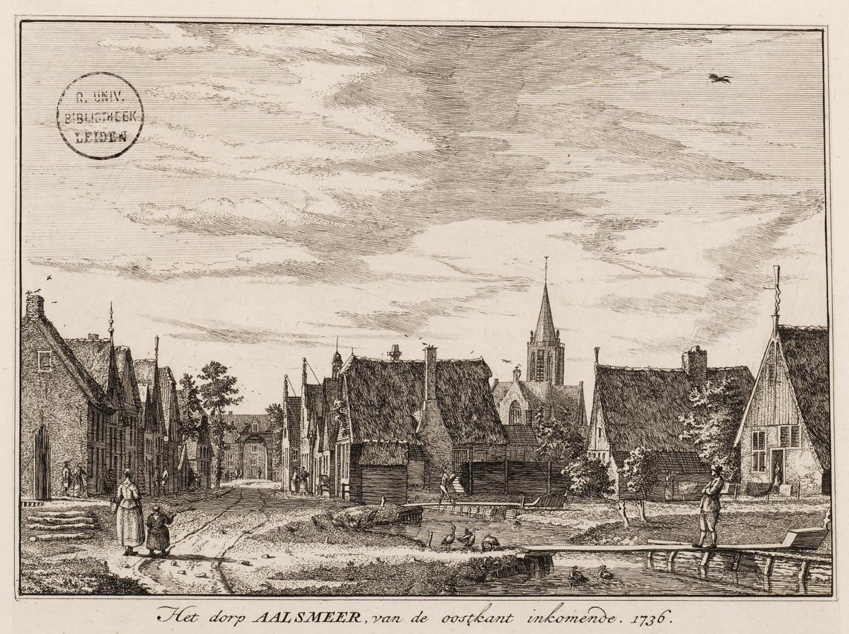 Aaalsmeer 1736_van_de oostkand komen